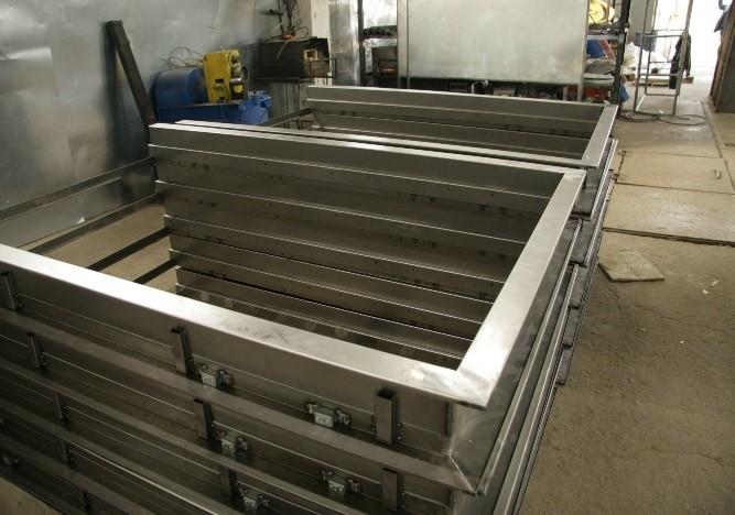 Этапы производства металлоизделий